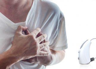 Alat Bantu Dengar Dengan Pengukur Detak Jantung dan Pendeteksi Jatuh